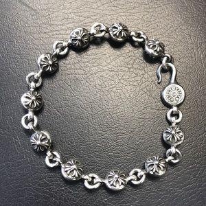 Chrome Hearts Accessories - Chrome Heart cross ball bracelet